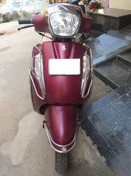 Suzuki Access 125 Special Edition With Disc Brakes And CBS Matt Red.