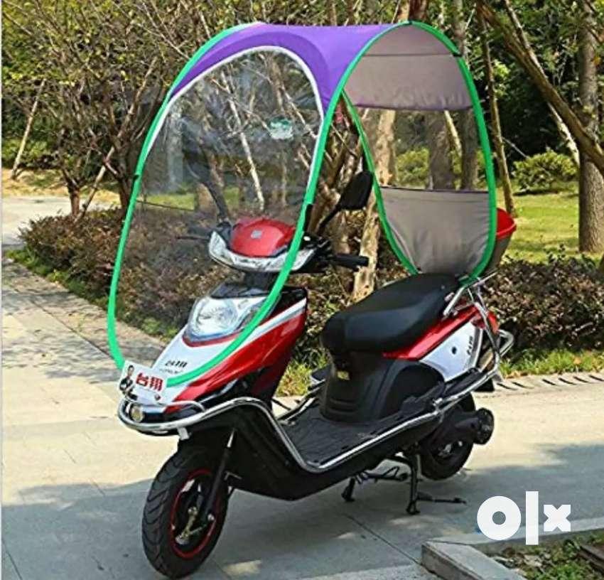 Bike umbrella, only 550,ab le mansoon ke maje 0