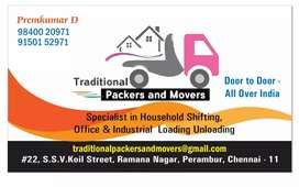 Traditional packers and movers