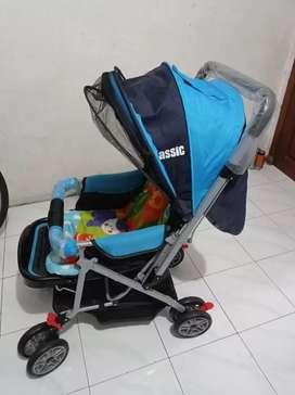 Stroller Merk Creative Baby B/S 218 Classic