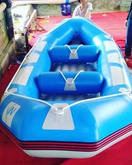 Perahu karet rafting kombinasi kap 6 orang