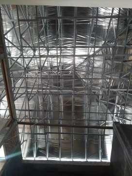 Menjual & menerima pemasangan rangka atap baja ringan