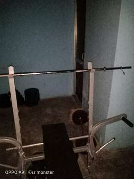 Home uses gym equipment 100kg weight