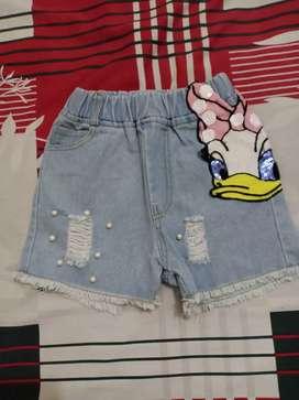 Hotpants anak perempuan