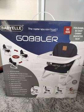 Babyelle baby booster seat kursi makan Gobbler BE906 - Biru