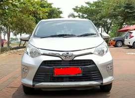 Dijual Toyota Calya Type G 1.2 M/T 2017 Silver Pemakaian Terawat
