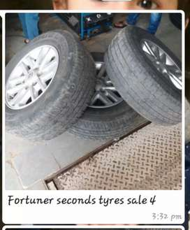 Fortuner second's tyres sales 4