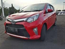 Toyota Calya G automatic 2016 merah istw