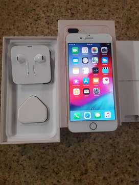 iPhone 8 plus 64GB gold in excellent condition.