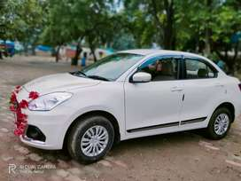 Booking for car rent 11/km and 1000 rent