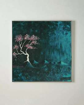 Painting for Sale - 'The Spirit Tree' (20 x 20 inches)