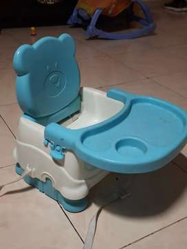Booster chair for baby feeding