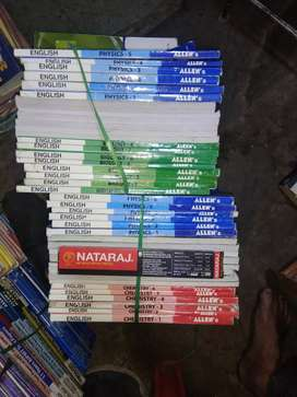 I have Allen resonance Bansal Career Point old books used books