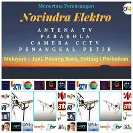 Pusat jual pasang antena tv murah lokasi Bekasi Selatan