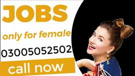 FEMALE REQUIRED FOR DOMESTIC AND OFFICIAL WORK