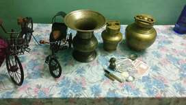 Old antique items.