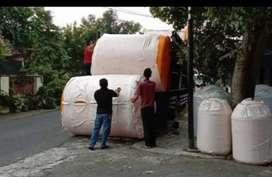 Klaten gudang tandon 1000 liter tandon 3000 HDPE tebal bahan plastik
