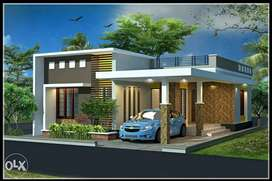 2 BHK, 850 sqft Independent House in 3.50 Cents Land of 6 Acrs  Pjt.