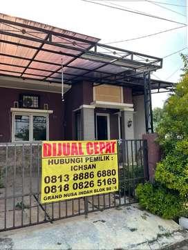 Dijual Cepat Rumah di Grand Nusa Indah LT123/LB60 (hook)