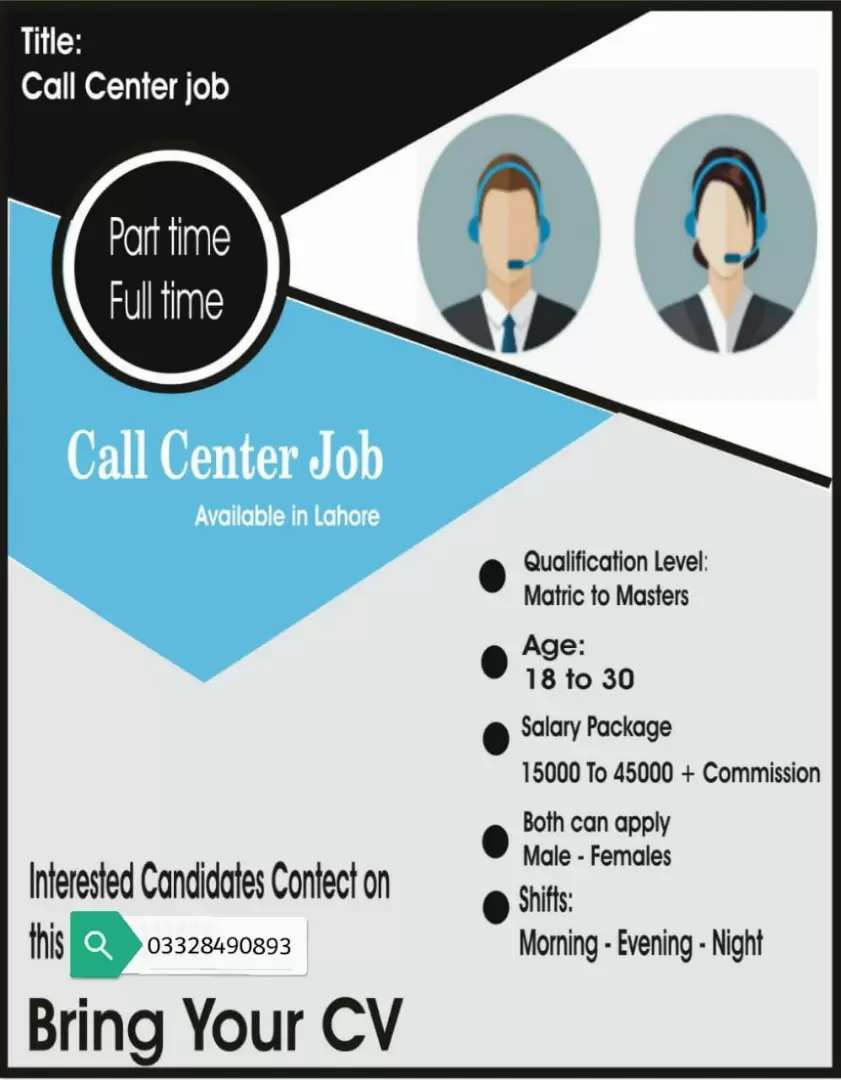 Call Centre jobs for students 0