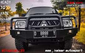 Bemper depan triton l200 model arb hilux vigo revo