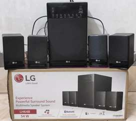LG 4.1 Bluetooth  music system  Almost  new condition