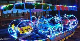 Ready stok odong mobil semua mainan labirin kotak lampu hias 3 warna