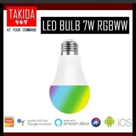 Takida Smart LED Bulb 7W RGBW