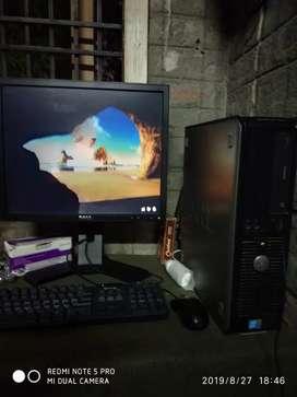 Dell core due processor and 4gb ram 500 gb hard disk