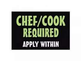 Cook required for upcoming cafe