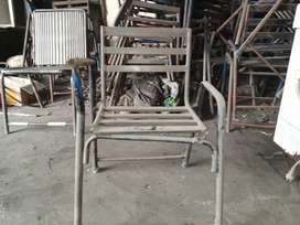Iron school chairs for sale