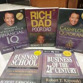 Paket Buku Robert Kiyosaki