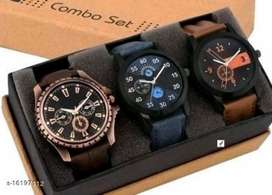Men Watches Combo 3 WATCH    free delivery   cash on delivery   