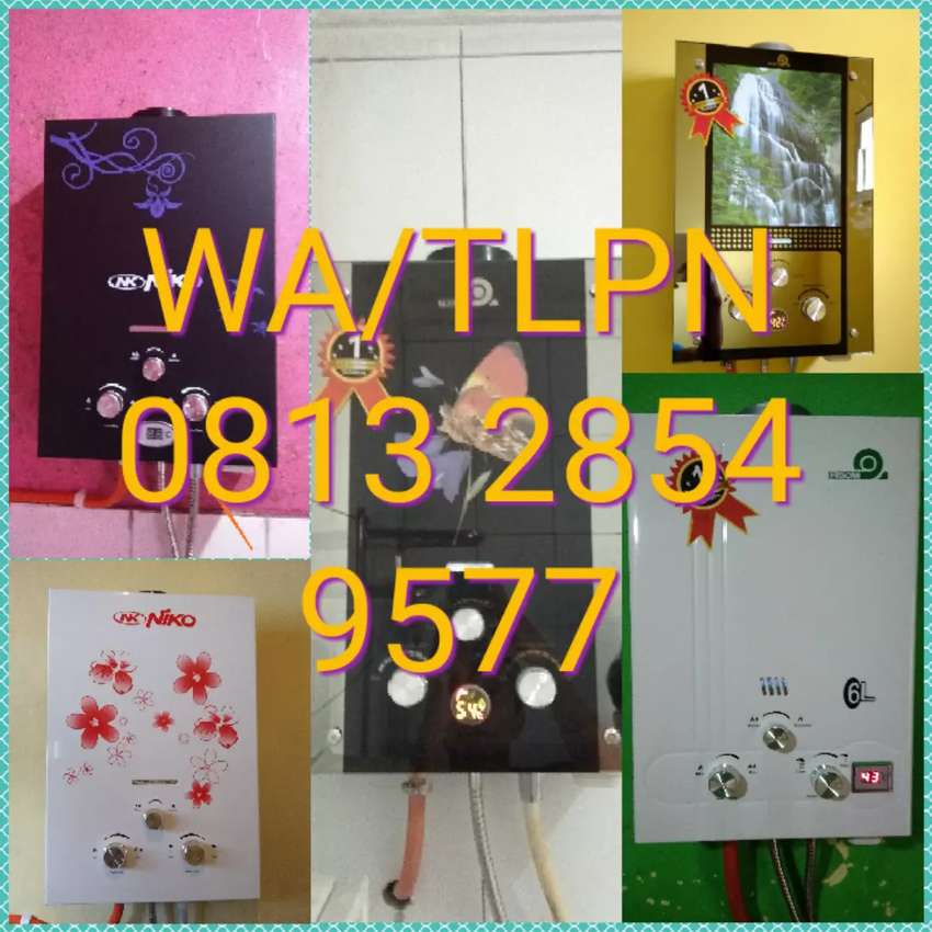 Paket pemanas air ( water heater ) gas 0
