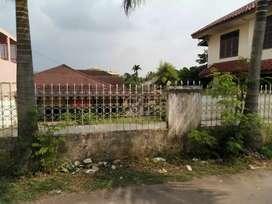 rumah tanah luas cocok untuk rumah mewah atau kos kosan elit