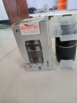 Canon 75 300mm new with box 10/10
