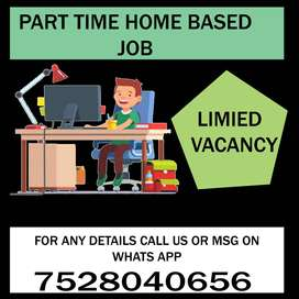 vacancy available for home based job