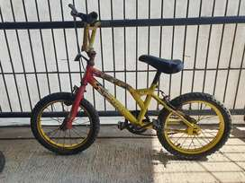 sepeda anak wimcycle minus rem