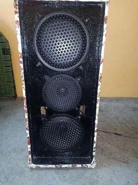 Dj sound speaker box 10+8+10inch speaker