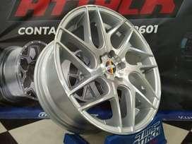 pelek racing mercy ring 18 hsr giant warna silver polish