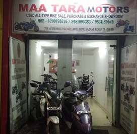Emi available all used bike and Scooty at sakher bazar