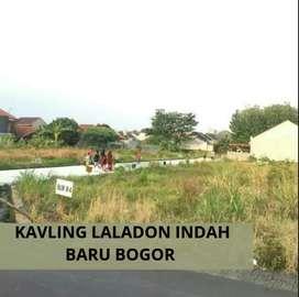 Tanah Murah didalam perumahan Laladon Indah Baru Bogor