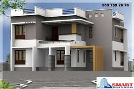New Construction at Nagercoil, Per Square Feet 1650