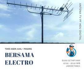 Melayani pasang antena tv luar terdekat bekasi utara
