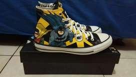 Converse CTAS HI X Batman 80 Years
