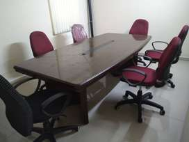 Office Work Stations, Conference Table, Chairs for sale