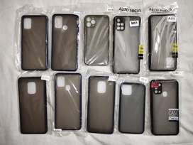 Back covers matte finish rubberized hard case.