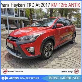 Toyota Yaris Heykers AT 2017 KM 10rb an antik orisinil