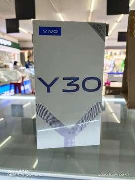 Vivo Y30 6/128GB new garansi resmi 1 tahun