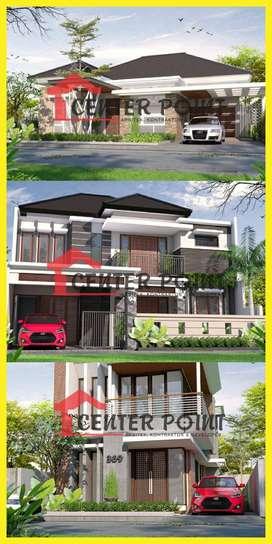 Desain Arsitek Gambar RAB IMB Kontraktor Rumah di Palu